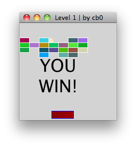 winner screen